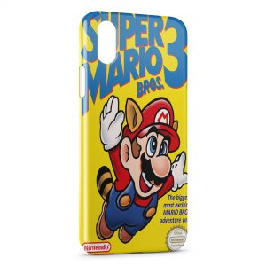 Coque iPhone X & XS Super Mario 3