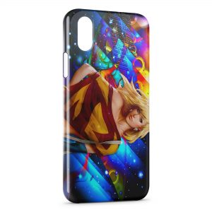 Coque iPhone X & XS SuperGirl 2