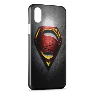Coque iPhone X & XS Superman