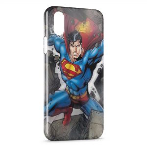 Coque iPhone X & XS Superman Art