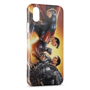 Coque iPhone X & XS Superman Combat