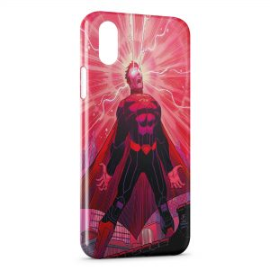 Coque iPhone X & XS Superman Eyes Power