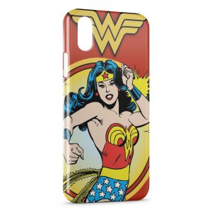 Coque iPhone X & XS Superwoman Advengers Vintage Comics