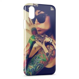 Coque iPhone X & XS Swag Sexy Girl