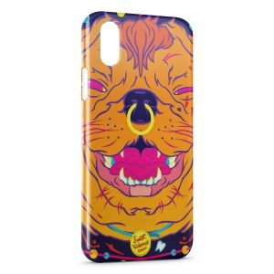 Coque iPhone X & XS Sweet Violence Dog