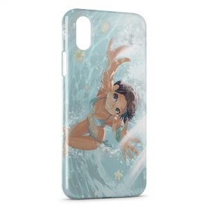 Coque iPhone X & XS Swim Girl Manga