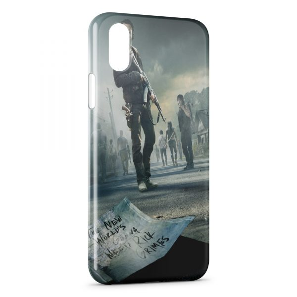 Coque iPhone X & XS THe Walking Dead 4