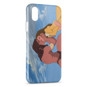 Coque iPhone X & XS Tarzan et Jane