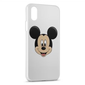 Coque iPhone X & XS Tete Mickey 2