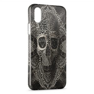 Coque iPhone X & XS Tete de mort