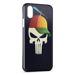 Coque iPhone X & XS Tete de mort YEAH