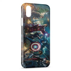 Coque iPhone X & XS The Advengers 4