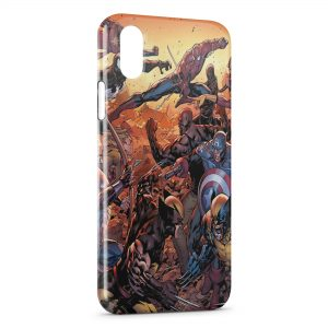 Coque iPhone X & XS The Avengers