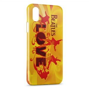 Coque iPhone X & XS The Beatles LOVE