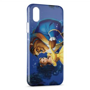Coque iPhone X & XS The Beauty and The beast Disney