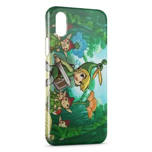 Coque iPhone X & XS The Legend of Zelda