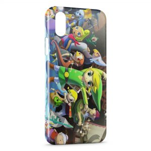 Coque iPhone X & XS The Legend of Zelda Junior