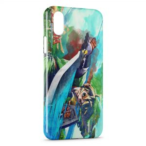 Coque iPhone X & XS The Legend of Zelda Skyward Sword 2