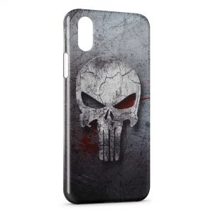 Coque iPhone X & XS The Punisher Art