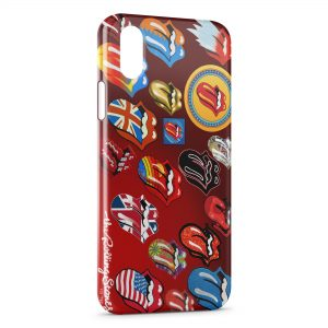 Coque iPhone X & XS The Rolling Stones 2