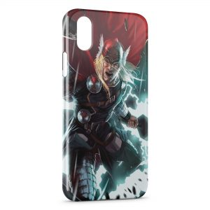 Coque iPhone X & XS Thor Comics
