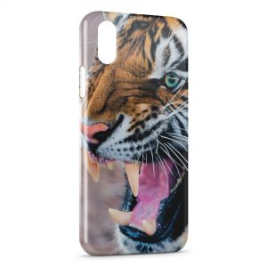 Coque iPhone X & XS Tiger 4