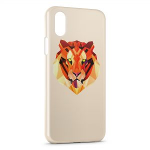 Coque iPhone X & XS Tiger Style