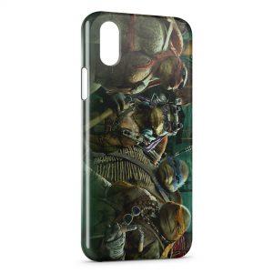 Coque iPhone X & XS Tortue Ninja 5