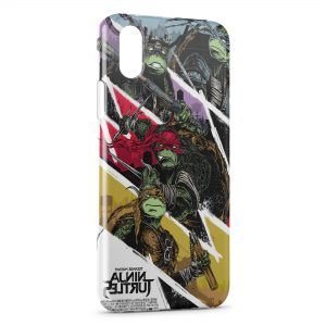 Coque iPhone X & XS Tortue Ninja 6