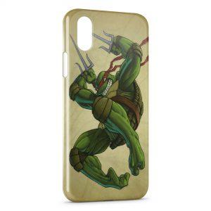 Coque iPhone X & XS Tortue Ninja 7