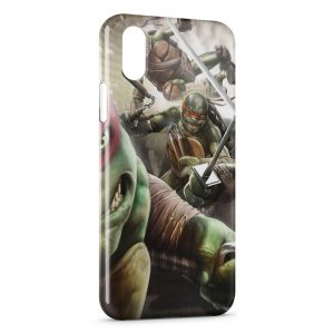 Coque iPhone X & XS Tortue Ninja2
