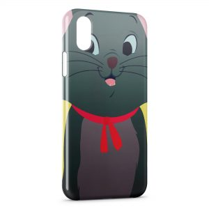 Coque iPhone X & XS Toulouse Aristochats