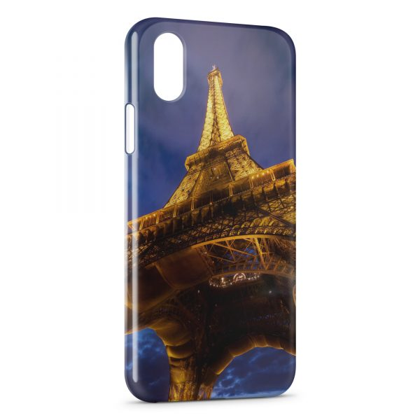 coque iphone x tour eiffel