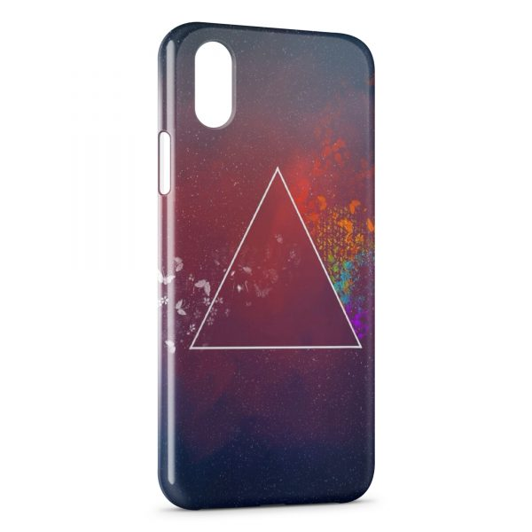 Coque iPhone X & XS Triangle Design 2