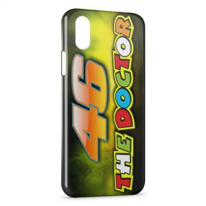 Coque iPhone X & XS Valentino Rossi 46 Logo