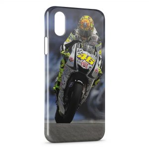Coque iPhone X & XS Valentino Rossi 46 Moto Road Sport