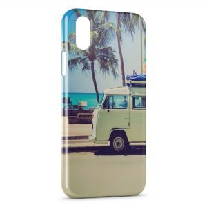 Coque iPhone X & XS Vanne & Beach