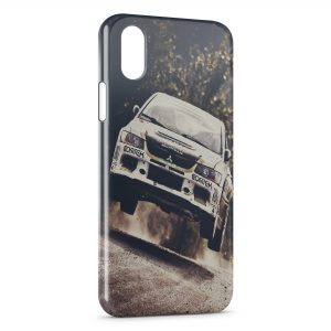 Coque iPhone X & XS Voiture Rally 3
