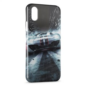 Coque iPhone X & XS Voiture de Course