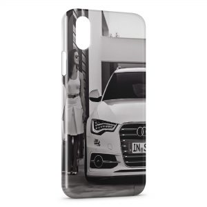 Coque iPhone X & XS Voiture de luxe & Girl