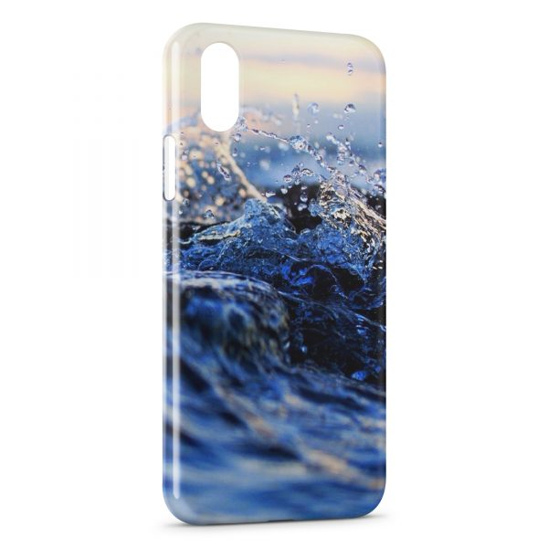 Coque iPhone X & XS Water in Life