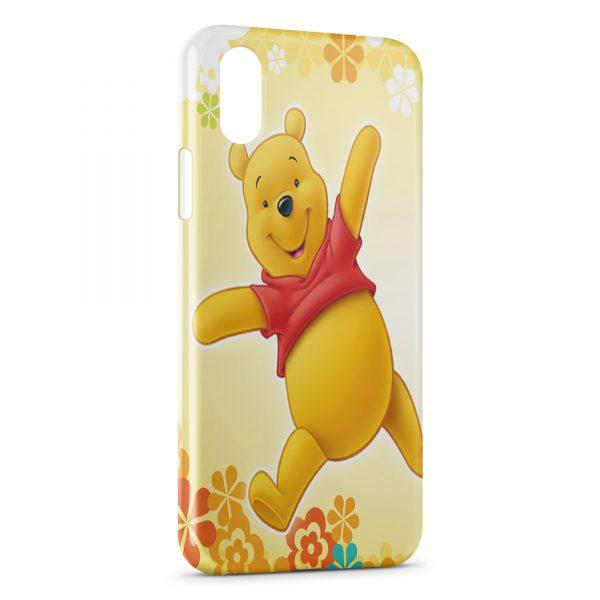 Coque iPhone X & XS Winnie l'Ourson Graphic