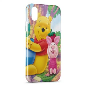 Coque iPhone X & XS Winnie l'Ourson et Porcinet 3