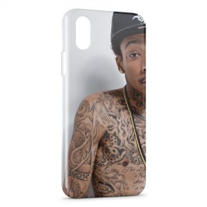 Coque iPhone X & XS Wiz Khalifa 2