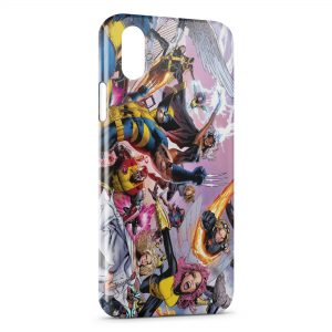 Coque iPhone X & XS X-Men Groupe