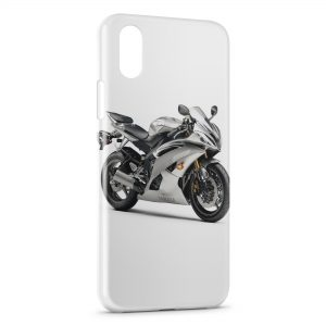 Coque iPhone X & XS Yamaha R6 Moto