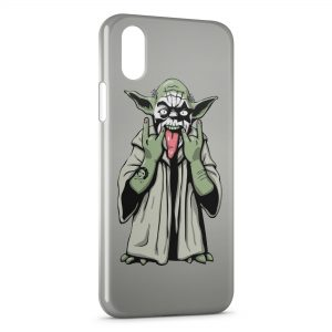 Coque iPhone X & XS Yoda Star Wars Yo