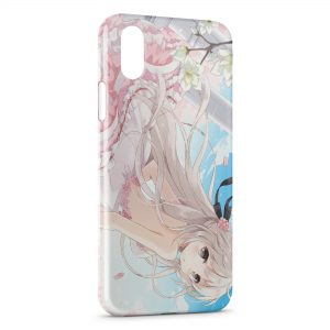 Coque iPhone X & XS Yosuga No Sora Manga 2