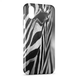 Coque iPhone X & XS Zèbre Black and White