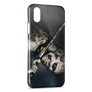 Coque iPhone X & XS Zombie Roy